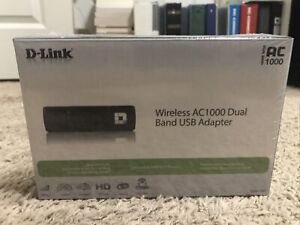 D-Link Wireless AC1000 Dual Band USB Adapter Brand New