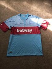 Mens Large Dmitri Payet West Ham Soccer Jersey