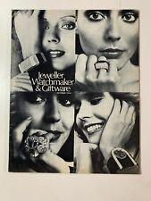 Vintage Australian Jeweller Watchmaker & Giftware Brochures October 1974