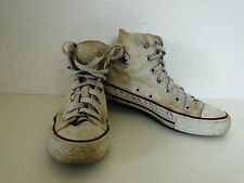 Converse all star Chuck sneaker baskets High taylor tissu blanc taille 4/36,5