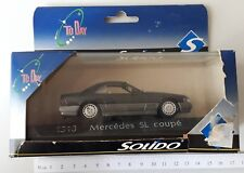 SOLIDO TO DAY 1518  MERCEDES SL COUPE' 1:43 1/43 MODEL CAR METAL DIE CAST