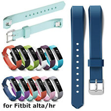Glossy Silicone Band for Fitbit Alta HR Smart Watch Bracelet TPU Strap Wristband