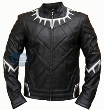Chadwick Boseman 2018 Black Panther Leather Jacket