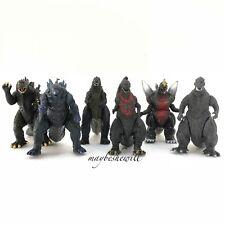 Classic Godzilla 6 Pcs Monsters Mechagodzilla Trendmaster Shin Godzilla 2016