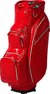 OUUL Alligator Cart Bag 15 way Divider Top in Red Brand New **75% Off Sale**