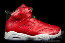 Air Jordan 6 RETRO SPIZIKE Size 14 VARSITY RED GREEN 694091-625 history of