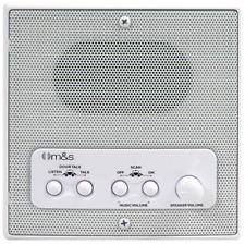 M&S DMC4RS Retrofit Indoor Room Station W/ remote scan & master volume White