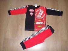 Pyjamas rouge pour garçon de 0 à 24 mois en 100% coton