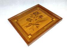 Excepcional Imagen Cuadro madera con Marquetería para 1920