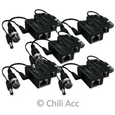 5 Pair Balun Security Camera Video Transceiver UTP One Channel Passive