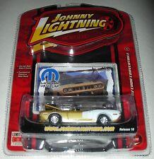 Gold 1971 Plymouth Hemi Barracuda Convertible Mopar or No Car 4 Johnny Lightning