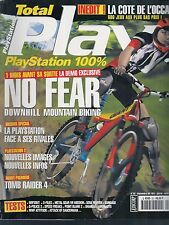TOTAL PLAYSTATION N° 20--NO FEAR/TOMB RAIDER 4/COTE DE L'OCCASE/WIP3OUT/X FILES