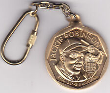 1947 to 1997 JACKIE ROBINSON - 50 Year Anniversary Key Chain - Breaking Barriers