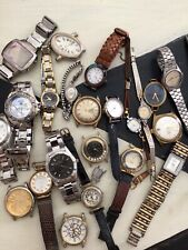 Vintage Antique Watches Lot For Parts Or Repair