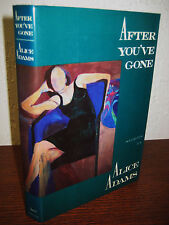 1st Edition AFTER YOU'VE GONE Alice Adams STORIES First Printing FICTION