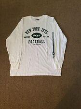 New York Jets white Long sleeved t shirt by NFL Apperel nwot