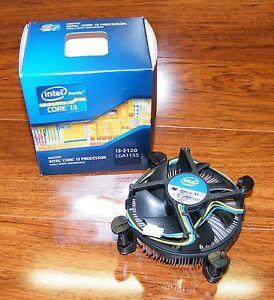 Desktop Processor Fan Only Made for Intel Core (i3-2120 LGA1155) *READ* FAN ONLY