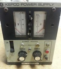 Kepco JMK 15-6 Analog DC Power Supply 0-15V 0-6A 115/230V Adjustable Regulated