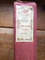 Antique Book 1903 Madame Du Barry Editor's Autograph Edition Book 1st Ed