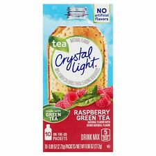 6 10-Packet Boxes Crystal Light Raspberry Green Tea On The Go Drink Mix