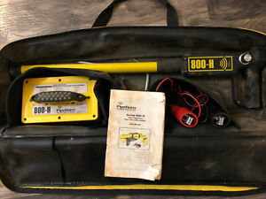 Pipehorn 800 H High Frequency Pipe & Cable Locator Kit - Used in Bag