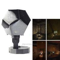 Romantic Astro Star Sky Projector Cosmos Night Lights Lamp Kids Bedroom Decor