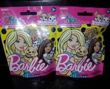 Lot of 2 Barbie Pets Series 1 Factory Sealed  - Fuzzy Puppies / Pet Blind Bags