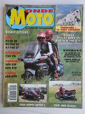 MONDE MOTO N° 11 /KAWA 750 VN/YAM'750 YZF,600 XTE/HONDA 600 NTV/JAWA-VELOREX