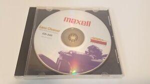 Maxell CD-340 CD DVD Lens Cleaner Thunderon Brush System w/ Voice Instructions