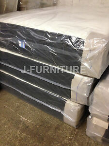 """4ft Double Mattress.Real Luxury Orthopaedic and Memory Foam.10"""" Deep! RRP £799"""