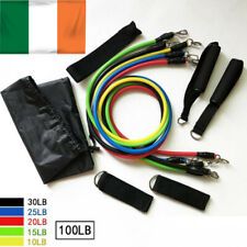 Resistant band workout exercise weight fitness training door anchor IRISH