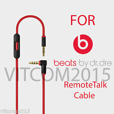 Replacement 2nd. Gen. Cable For Beats By Dr.Dre Audio Remote Solo 2.0 Studio 2.0