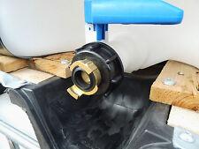 """IBC Adapter 3/4"""" GeKa - Regenwassertank Adapter-1000l Wassertank Anschluss #75"""