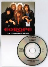 "EUROPE The Final Countdown /Carrie JAPAN 3"" CD SINGLE VDPS-1002 SNAPPED/ FOLDED"