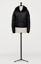 - GIAMBATTISTA VALLI x H&M BLACK LEATHER BOMBER MENS JACKET SIZE M