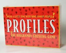 Profiles The Biography Guessing Game Ages 10+ New