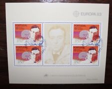 "PORTUGAL 1983 ""EUROPA CEPT"" USED BLOCK (CAT.A)"