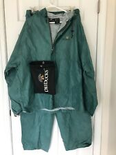 Dri Duck emergency rain gear XL hoodie jacket pants pouch green outdoor