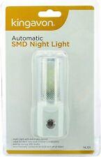 3 Kingavon Automatic SMD Night Light Plug In Bathroom Bedrooms Sensor Bulb Kids