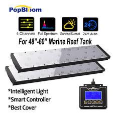 "48"" Programmable LED Aquarium Light Full Spectrum Reef Coral Marine Tank SPS LPS"