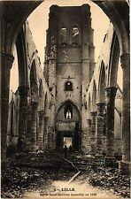 CPA Lille - Eglise Saint-Sauveur incendié en 1896 (194167)