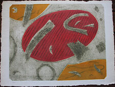 Gravure carborandum etching Henri GOETZ S/N petit tirage sur 46 *