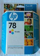 HP 78 Genuine Inkjet Print Cartridge Tri-Color New Sealed 12/ 2008