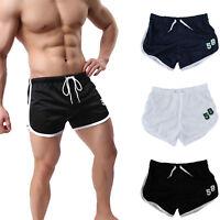 Men Jogger Fitness Beach Sport Shorts Running Bodybuilding Summer Gym Pants