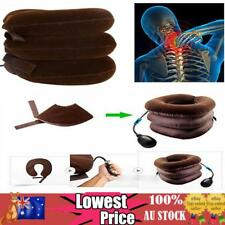Air Inflatable Pillow Cervical Neck Pain Traction Soft Support Brace Device