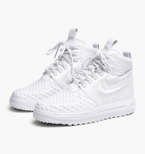 Nike LF 1 Duckboot `17 Premium (White) - UK 14 (EUR 49.5) - New ~ AA1123 100