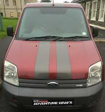 FORD TRANSIT CONNECT BONNET STRIPES ALL STANDARD COLOURS STICKERS GRAPHICS