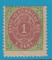 DANISH WEST INDIES 5 MINT NEVER HINGED OG ATTRACTIVE !