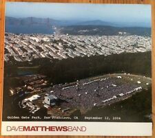Dave Matthews Band: Golden Gate Park (CD, 2004)