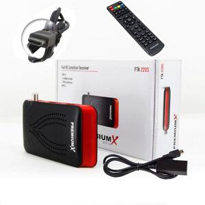 PremiumX Mini FullHD FTA 220S Digital Satelliten Receiver SAT TV DVB-S2 HDMI USB